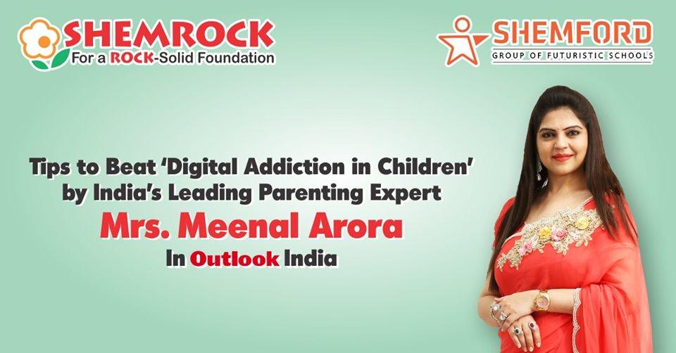 Digital Addication in children